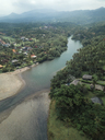 Indonesia, Bali, Aerial view of island - KNTF01241