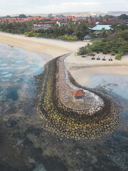 Indonesia, Bali, Aerial view of Nusa Dua beach - KNTF01297