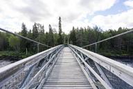 Finland, Vikakongas, Suspension bridge - KKAF01694