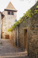 Germany, Rhineland-Palatinate, Freinsheim, Historic city wall - GWF05657