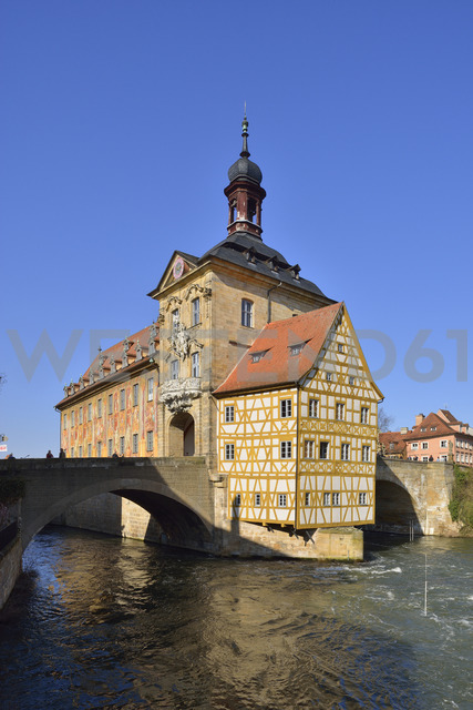 Germany, Bamberg, view to historical town hall - RUEF01936 - Martin Rügner/Westend61