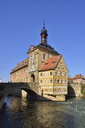 Germany, Bamberg, view to historical town hall - RUEF01936