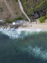 Indonesia, Bali, Aerial view of Balangan beach - KNTF01400