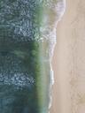Indonesia, Bali, Aerial view of Balangan beach - KNTF01409
