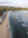 Indonesia, Bali, Aerial view of Balangan beach - KNTF01412