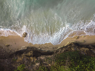 Indonesia, Bali, Aerial view of Pandawa beach - KNTF01438