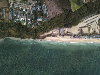 Indonesia, Bali, Aerial view of Pandawa beach - KNTF01447