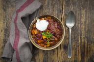 Chili con Carne with coriander and sour cream - LVF07442