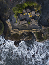 Indonesia, Bali, Aerial view of Tanah Lot temple - KNTF01511