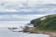 Great Britain, Scotland, Caithness, Dunbeath Castle - ELF01914