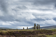 Great Britain, Scotland, Orkney, Mainland, Ring of Brodgar, neolithic stone circle - ELF01920