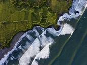 Indonesia, Bali, Kedungu, Aerial view of Kedungu Beach - KNTF01547
