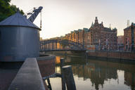 Germany, Hamburg, Old Warehouse District and Zollkanal in the morning - RJF00802
