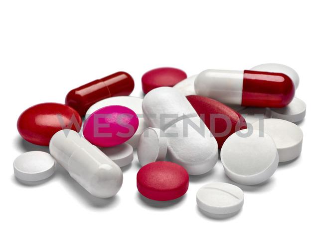 Various pills, close-up - RAMF00072