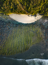 Indonesia, Bali, Aerial view of Green Bowl beach - KNTF01577