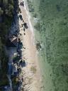 Indonesia, Bali, Aerial view of Melasti beach - KNTF01633