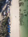 Indonesia, Bali, Aerial view of Melasti beach - KNTF01636