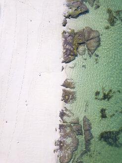 Indonesia, Bali, Aerial view of Melasti beach - KNTF01639