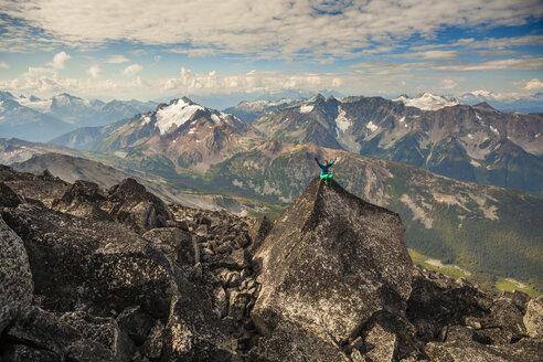 Climbing Mount Marriot, British Columbia, Canada. - AURF05124