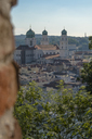 Germany, Bavaria, Passau, City view with St. Stephen's Cathedral - HAMF00369