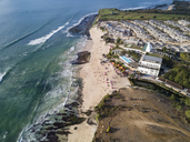 Indonesia, Bali, Aerial view of Dreamland beach - KNTF01714