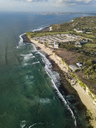 Indonesia, Bali, Aerial view of Dreamland beach - KNTF01720
