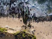 Indonesia, Bali, Aerial view of Dreamland beach - KNTF01726