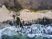 Indonesia, Bali, Aerial view of Dreamland beach - KNTF01747