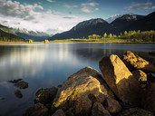 Lillooet Lake at sunset, BC, Canada - AURF05465