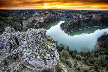 San Frutos del Duraton Hermitage, Hoces del Duraton, Duratón river gorges, Naturpark Hoces del Río Duratón, Sepulveda - AURF05523