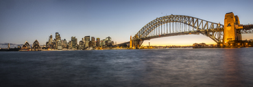 Sydney Harbor Bridge And City Skyline At Sydney, Australia - AURF05619
