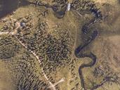 Finland, Kolari, Aerial view of Varkaankari - RSGF00006