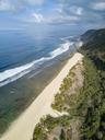 Indonesia, Bali, Aerial view of Nyang Nyang beach - KNTF01801