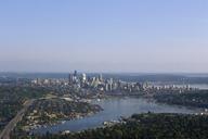 Aerial view of Seattle city, Washington State, United States - AURF05980