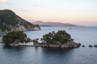 Greece, coastal landscape near Parga at sunset - PSIF00083