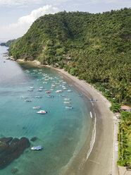 Indonesia, Bali, Aerial view of beach - KNTF01886