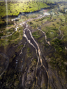Indonesia, Bali, Aerial view of river - KNTF01892