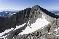 Castle Peak during summer, Aspen, Colorado, USA - AURF06750