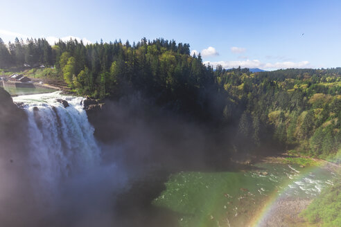 USA, Washington State, Snoqualmie, Snoqualmie Falls - MMAF00607