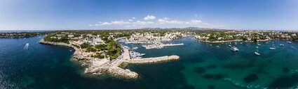 Spain, Balearic Islands, Mallorca, Region Cala d'Or, Coast of Porto Petro - AMF05992