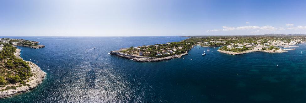 Spain, Balearic Islands, Mallorca, Region Cala d'Or, Coast of Porto Petro - AMF05998