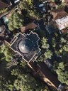 Indonesia, Bali, Ubud, Aerial view of Museum Blanco - KNTF01987