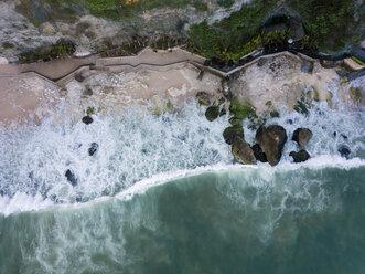 Indonesia, Bali, Aerial view of beach - KNTF02031