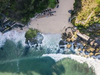 Indonesia, Bali, Aerial view of beach - KNTF02037