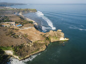 Indonesia, Bali, Aerial view of Balangan beach - KNTF02040