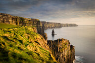 Cliffs of Moher at sunset, Doolin, Clare, Ireland - CUF45035