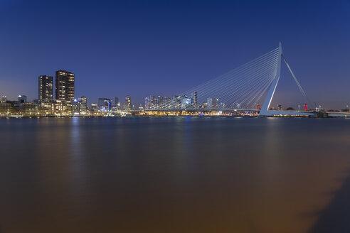 Netherlands, Holland, Rotterdam, Erasmusbrug - RPSF00238