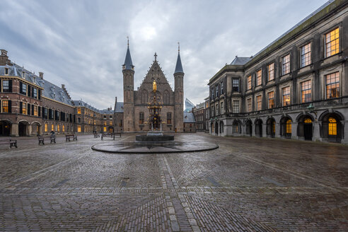 Netherlands, Holland, The Hague, Binnenhof - RPSF00253