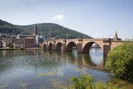 Germany, Baden-Wuerttemberg, Heidelberg, Neckar, Charles-Theodore-Bridge - WIF03631