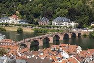 Germany, Baden-Wuerttemberg, Heidelberg, Neckar, Charles-Theodore-Bridge - WIF03634